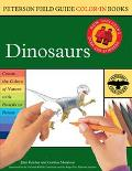 Peterson Field Guide Color-in Books Dinosaurs