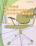 Small Business Management, Custom Publication