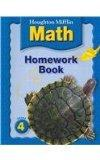 Houghton Mifflin Math: Homework Book (Consumable) Grade 4