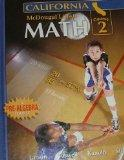 McDougal Littell Middle School Math California: Student Edition Course 2 2008