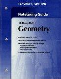 Holt McDougal Larson Geometry: Teacher's Notetaking Guide
