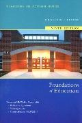 Foundations of Education Media Guide for Packaging 9th Edition