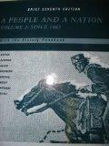 A People and a Nation with the History Handbook (Volume 2: Since 1865)