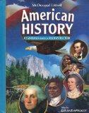 McDougal Littell Middle School American History: Student Edition Beginnings through Reconstr...