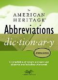 American Heritage Abbreviations Dictionary