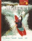 McDougal Littell: Algebra 1, Michigan Edition