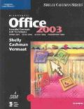Microsoft Office 2003 Essential Concepts and Techniques