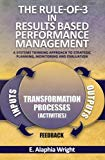 The Rule-of-3 in Results Based Performance Management: A Systems Thinking Approach to Strate...