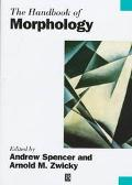 Handbook of Morphology