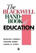 Blackwell Handbook of Education