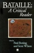 Bataille A Critical Reader