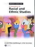 Companion to Racial and Ethnic Studies