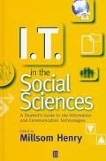 It in the Social Services: A Student's Guide to the Information and Communication Technologies