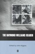 Raymond Williams Reader