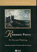 Romantic Poetry An Annotated Anthology