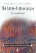 Nature-Nurture Debate The Essential Readings