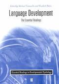 Language Development The Essential Readings