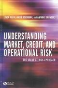 Understanding Market, Credit, and Operational Risk The Value at Risk Approach