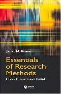 Essentials of Research Methods A Guide to Social Science Research