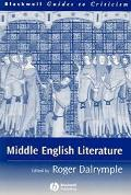 Middle English Literature A Guide to Criticism