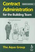 Contract Administration for the Building Team