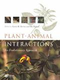 Plant-Animal Interactions An Evoltuionary