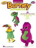 Barney Songbook Easy Piano