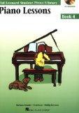 Piano Lessons Book 4 - Book/CD Pack: Hal Leonard Student Piano Library (Educational Piano Li...