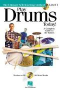 Play Drums Today A Comprehensive Guide to the Basics - Level 1