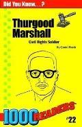 Thurgood Marshall Civil Rights Solider