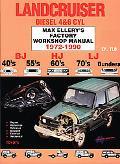 Landcruiser Diesel 4&6 Cyl Max Ellery's Factory Workshop Manual 1972-1990
