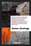 Observations on Some of the Dialects in the West of England, Particularly Somersetshire: Wit...