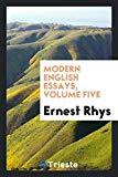 Modern English Essays, Volume Five