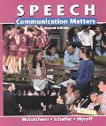 Speech Communication Matters