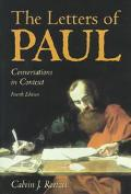 Letters of Paul Conversations in Context