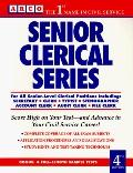 Arco Senior Clerical Series: For All Senior-Level Clerical Positions Including: Secretary, C...