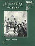 Enduring Voices: Document Sets to Accompany