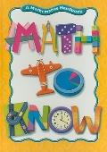 Math to Know: A Mathematics Handbook - Mary Cavanagh - Hardcover