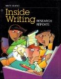 Great Source Write Source Inside Writing: Research Reports Student Edition Grade 7 (Ws Insid...