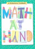 Math at Hand A Mathematics Handbook