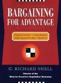 Bargaining for Advantage