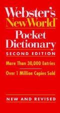 Webster's New World Pocket Dictionary - Webster's New World - Paperback - 2nd ed