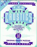 SIMON & SCHUSTER FUN WITH CROSTICS #7