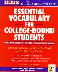 Essential Vocabulary for College-Bound Students: College Entrance and Placement Tests - Marg...