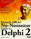 Borland's Official No-Nonsense Guide to Delphi 2 - Michelle Manning - Paperback