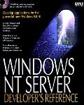 Windows Nt Server Developer's Reference