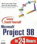Teach Yourself Micro.proj.98 in 24 Hrs.