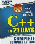 Teach Yourself C++ in 21 Days: The Complete Learning Edition