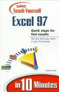 Teach Yourself Excel 97 in 10 Minutes - Jennifer Fulton - Paperback
