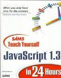 Teach Yourself Javascript 1.3